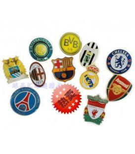 Значки клубные футбольные