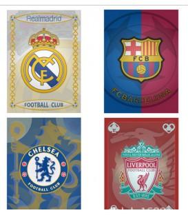 Карты игральные клубные футбольные