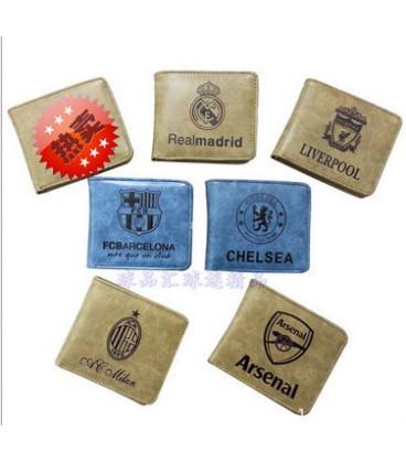 Партмоне с символикой клубов