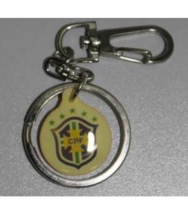 Брелок Бразилия клубный футбольный
