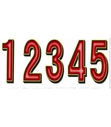 Номер задний на форму