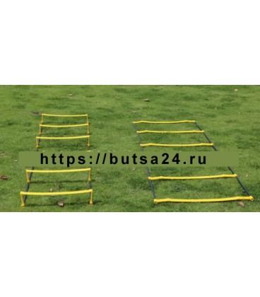 Лестница-барьер для скоростной ловкости