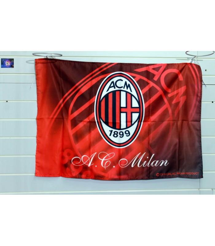 Флаг футбольного клуба милан