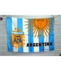 Флаг сборной Аргентины