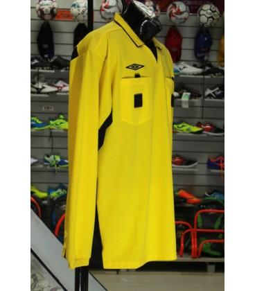 футболка судейская Umbro футбольная с длинным рукавом