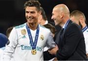 Криштиану Роналду прокомментировал возвращение Зидана в «Реал» и о своём возможном возвращении
